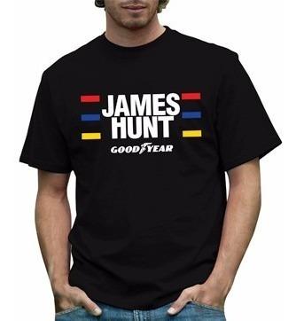 Camiseta James Hunt - Formula 1 F1 Anos 70' Tributo