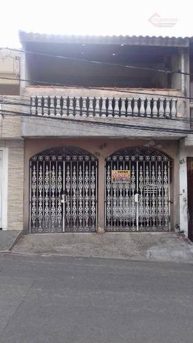 Imagem 1 de 12 de Sobrado Com 3 Dormitórios À Venda, 150 M² Por R$ 485.000,00 - Parque Dos Bancários - São Paulo/sp - So1078