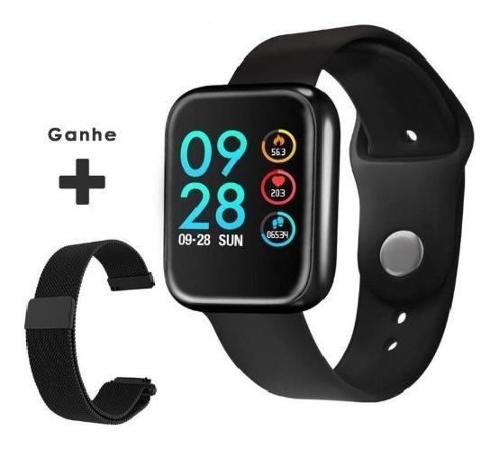 Smartwatch P68 P70 Pro Monitor Cardíaco + Pulseira Extra