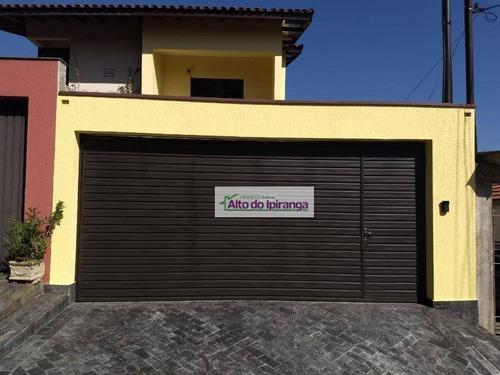 Sobrado À Venda, 204 M² Por R$ 1.300.000,00 - Vila Gumercindo - São Paulo/sp - So0853