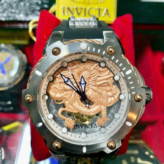 Relógio Invicta Dragon Coalition Force 52mm Automático 26317