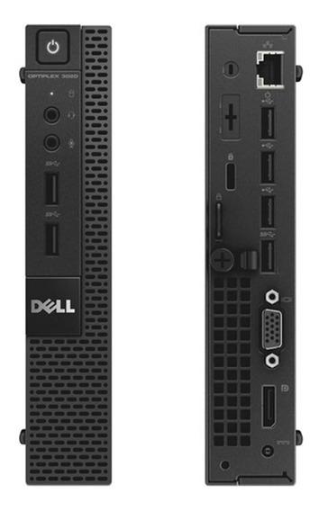 Cpu Dell Mini 3020 I3-4160 4gb 500gb Windows 10 Seminovo!