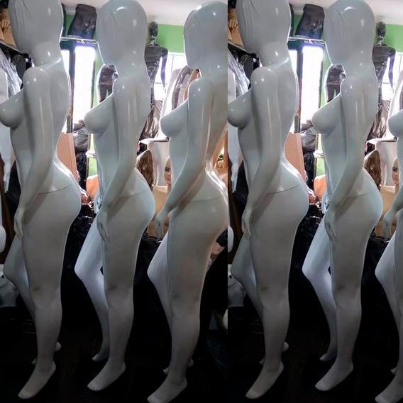 Maniquie De Fibra De Vidrio Mujer Dama Cuerpo Entero Moderno