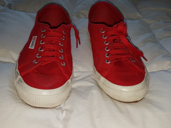 Zapatillas Superga Cotu Classic Rojas Moda