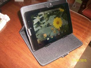 Vendo Funda De Eco Cuero Universal Para Tablets 8 Pulgadas