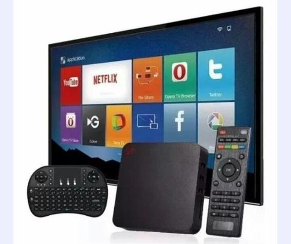 Aparelho Para Transformar Tv Em Smart + Mini Teclado