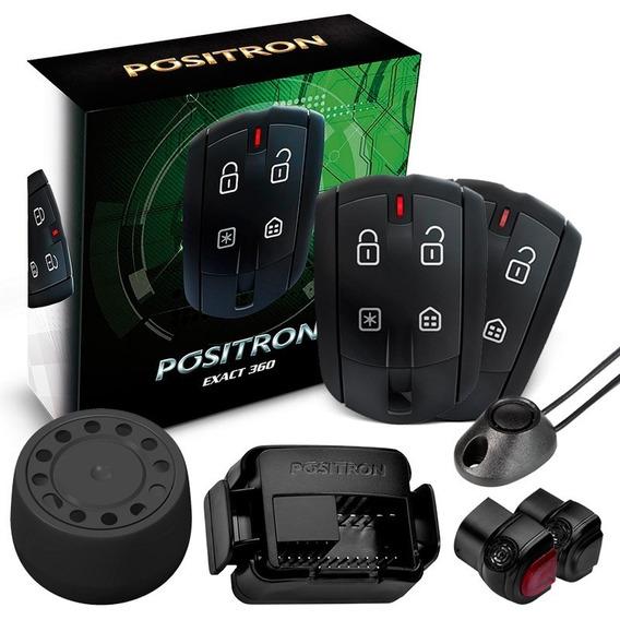Alarme Carro Positron Automotivo Ex Exact 360 Cyber