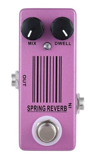 Mini Pedal Spring Reverb