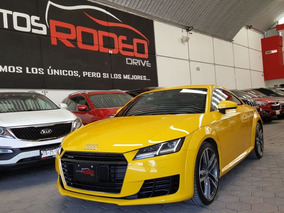 Audi Tt Coupe Sport High 2.0t Stronic Gps Qc Amarillo 2016