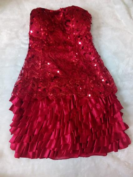 Vestido De Festa Tomara Que Caia Feminino Curto Usado