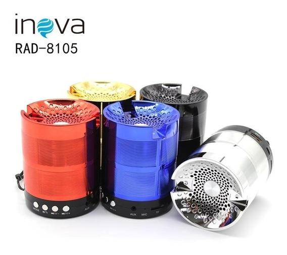Kit 5 Caixa De Som Portátil Inova Rad-8105 Atacado