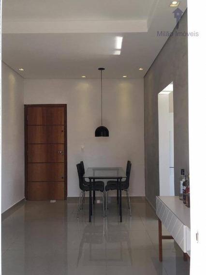 Apartamento Térreo 2 Dormitórios À Venda, 54m², Residencial Bartira, Jd. São Paulo Em Sorocaba/sp - Ap1087