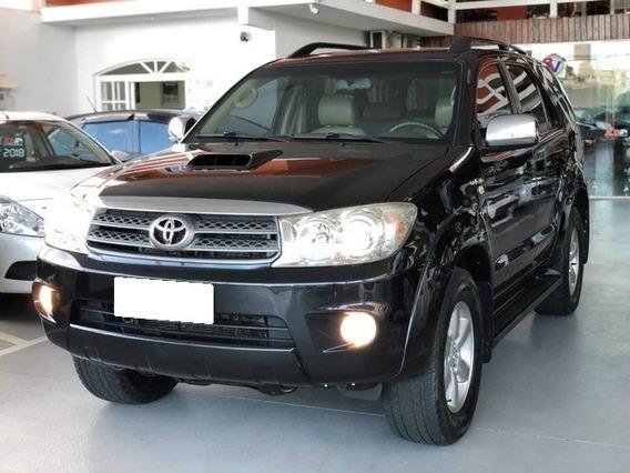 Toyota Hilux Sw4 Srv 3.0 Preta 4x4 Turbo Diesel Interc. 2010
