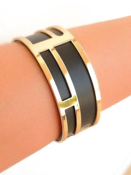 Bracelete Com Couro 3 Em 1