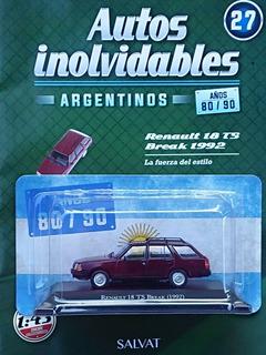 Colección Autos Inolvidables Argentinos Años 80/90