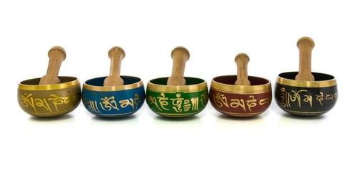 Kicode Nepal Mano Budismo Cobre Cuenco Tibetano de la Mano del palillo La meditaci/ón de Yoga Buda Canto Crafts