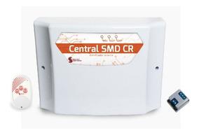 Central Eletrificador Para Cerca Elétrica Alarme Gcp Smd Cr