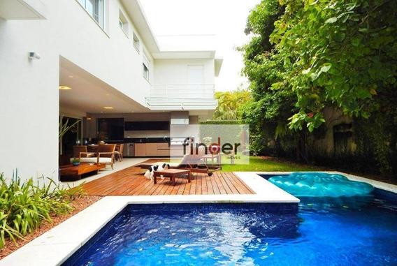 Casa Com 3 Suítes À Venda, 618 M² Por R$ 5.780.000 - Brooklin - São Paulo/sp - Ca0744