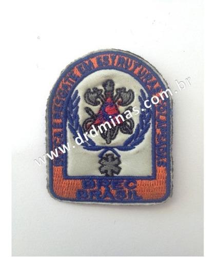 Patch / Distintivo Bordado Brec - Brasil - 01