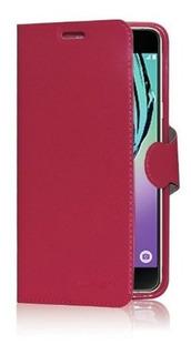 Funda Nokia 5.1 Plus Flip Tarjetero Eco Cuero + Vidrio Plano