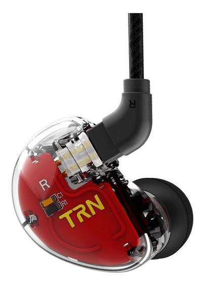 Fone De Ouvido Trn V30 3 Drivers Cada Lado Com Crossover