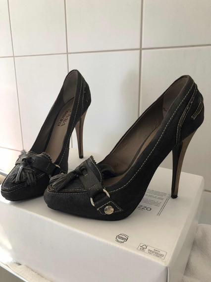 Sapato Couro Verde Musgo