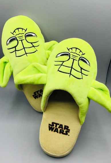 Chinelo Pantufa Star Wars 3d Mestre Yoda - Ricsen - Original