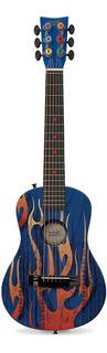 Guitarra Acústica First Act Discovery Fg3706 Blue Fire Tire