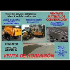 Materiales De Construcción Pétreo - Volqueta-hormigón