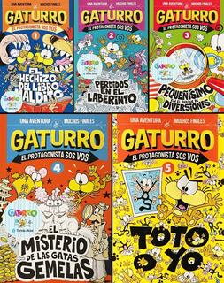 Colección Gaturro El Protagonista Sos Vos X 5 Promo Oficial