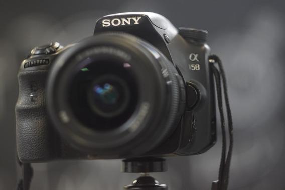 Câmera Sony Alpha Slt-a58 + Lente 18-55mm