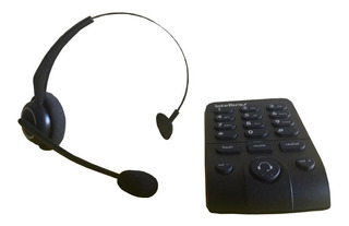 Telefone Intelbras Headset Base Discadora Hsb50 Semi-novo