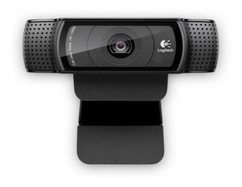Imagen 1 de 1 de Cámara Web Logitech C920 - Usb, Negro, 1920 X 1080 Pixeles