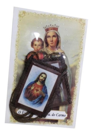 Escapulário De Tecido Nossa Senhora Do Carmo