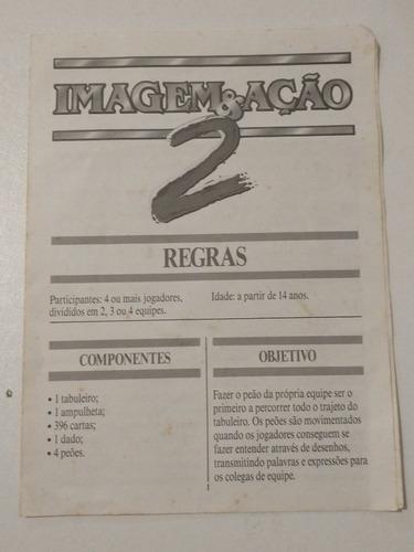 Manual Jogo Imagem Acao 2 Grow Mercado Livre