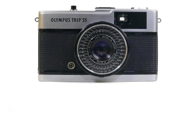Câmera Analógica Olympus Trip 35 1:2.8 F40mm