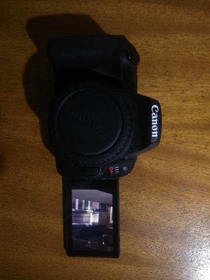 Câmera Digital Canon Eos Sl2 C/ Lente 18-55mm + Lente 75-300