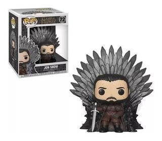 Funko Pop! Game Of Thrones Jon Snow #72 Trono Original
