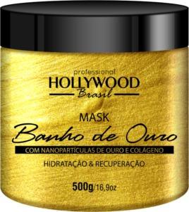 Hollywood Brasil Banho De Ouro 500gr