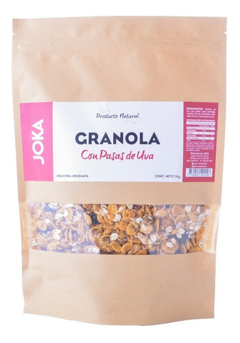 Granola Con Pasas De Uva Joka 1kg