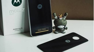 Moto Z Play Power Edition Preto Com Prata Motorola