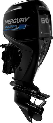 Imagem 1 de 3 de Motor De Popa Mercury 60hp Sea Pro 4 Tempos