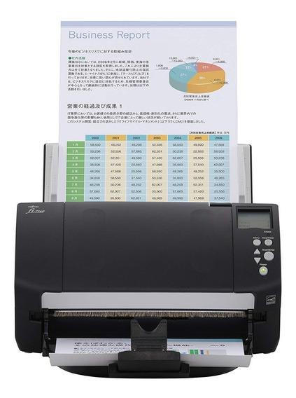 Scanner De Mesa Fujitsu Color A4 Duplex 60ppm Fi-7160 Fi7160