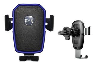 Suporte Carregador De Celular Para Carro Sem Fio Qi Wireless