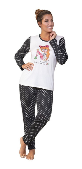 Pijama De Invierno Mujer Art 642