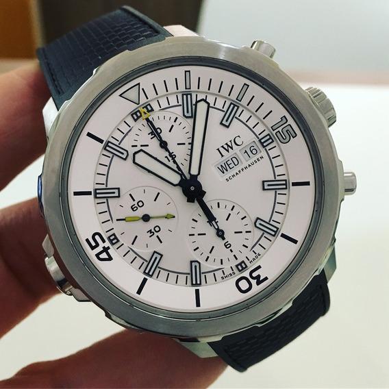 Iwc Aquatimer Chronograph Completo Garantia De Fábrica
