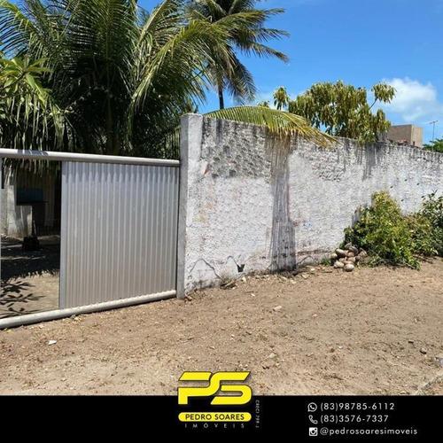 Casa Com 3 Dormitórios À Venda, 450 M² Por R$ 420.000 - Jacumã - Conde/pb - Ca0759