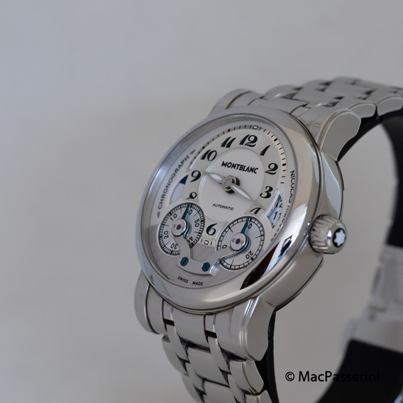 Relógio Montblanc Nicolas Rieussec Cronógrafo Automático