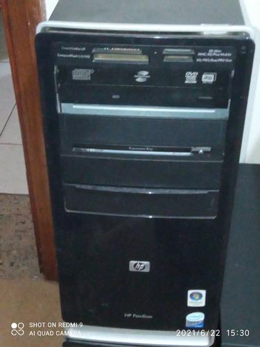 Computador Hp 4 Gb De Memória E Hd 500 Gb Core 2 Duo