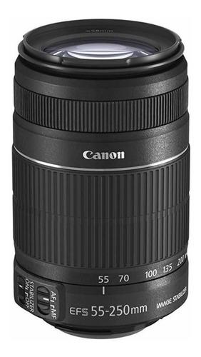 Lente Canon Ef-s 55-250mm F/4-5.6 Is Ii Seminova